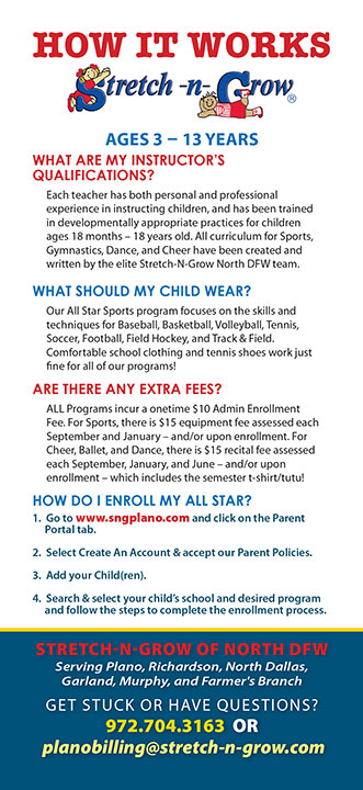 Sports: How it Works Rack Card 1